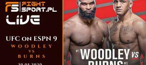 UFC Fight Night Woodley vs Burns - relacja z gali! LIVE!
