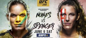 UFC 250 Nunes vs. Spencer: Las Vegas, 06/06/2020
