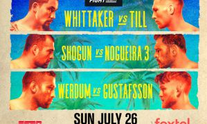 UFC on ESPN 14 Whittaker vs Till: Abu Dhabi, 25/07/2020