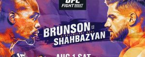 UFC Fight Night 173 Brunson vs. Shahbazyan: Las Vegas, 01/08/2020