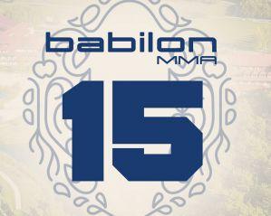 Babilon MMA 15: Hotel Ossa, 28/08/2020