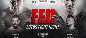 FEN 31 Lotos Fight Night: Łódź, 28/11/2020