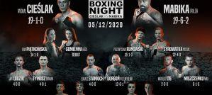 Polsat Boxing Night Cieślak vs Mabika: Warszawa, 05/12/2020