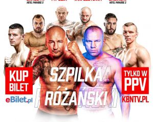 KBN 15 Szpilka vs Różański: Rzeszów, 30/05/2021