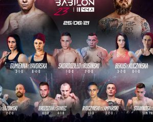Babilon MMA 23: Ożarów Mazowiecki, 25/06/2021