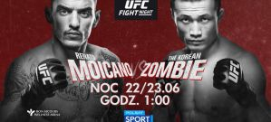 UFC on ESPN+ 12 Moicano vs. Korean Zombie: Greenville, 22/06/2019
