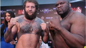 Legend Fighting Show: Emelianenko 120 kg, Sapp 154, Badr Hari 111 kg! Wyniki i video ważenia!