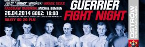 Gala Guerrier Fight Night: informacje i trailer!