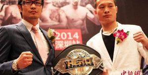 Yoshihiro Sato vs Xu Yan na Hero Legends 2014!