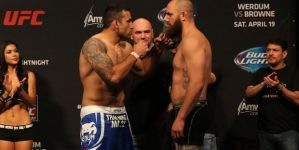 UFC on FOX 11 Werdum vs Browne - pełna wersja gali! Video!