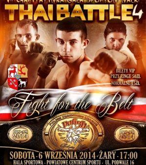 Thai Battle 4 odbędzie się 6 września w Żarach!