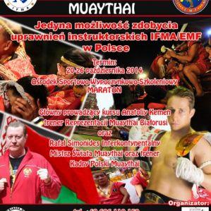 Kurs instruktora Muay Thai - informacje!