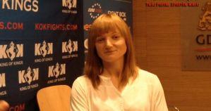 Kamila Bałanda o przygotowaniach do walki na KOK World GP 2014 in Gdansk! Wywiad!