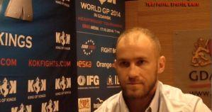 Piotr Kobylański przed KOK World GP 2014 in Gdansk! Wywiad!