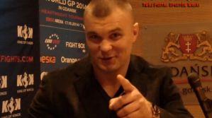 Robert Maruszak o walce z Michałem Wlazło na KOK World GP 2014 in Gdansk! Wywiad!