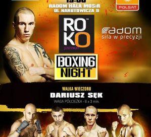 Zwycięstwo Dariusza Sęka na Radom Boxing Night!