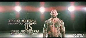 Michał Materla vs Jorge Luis Bezerra na KSW 28! Zapowiedź wideo!