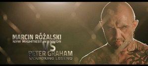 Marcin Różalski vs Peter Graham na KSW 28 Fighters' Den! Zapowiedź wiedo!