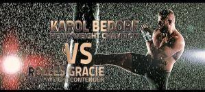 Karol Bedorf vs Rolles Gracie na KSW 28 Fighters' Den! Zapowiedź wideo!