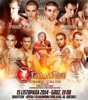 Bilety na East Side Fight 1 w sprzedaży na Ticketpro.pl