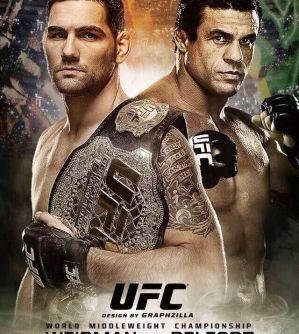 Weidman vs. Belfort na UFC 184!