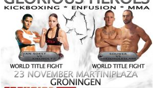 Enfusion 22: Andy Souwer oraz Denise Kielholtz z pasami mistrzowskimi! Wyniki!