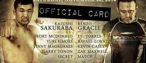 Metamoris 5: Kazushi Sakuraba i Renzo Gracie na remis! Wyniki i video!