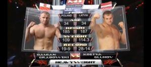Walki Damiana Grabowskiego i Marcina Tybury na M-1 Challenge 53! Wideo!