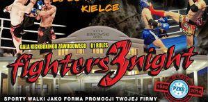 Gala Fighters Night 3 z gwiazdami i 25-leciem Polskiego Związku Kickboxingu!