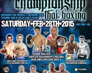 Filip Kulawiński vs Mike Clark na Kiatphontip Championship Thai Boxing!