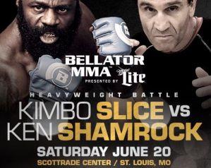 Kimbo Slice vs Ken Shamrock na Bellator 138!