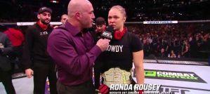UFC 184: Ronda Rousey, Cat Zingano i Holly Holm zaraz po walce! Wywiad z octagonu!