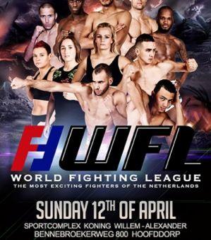 World Fighting League - trzy turnieje Kickboxingu w Holandii! Zapowiedź!