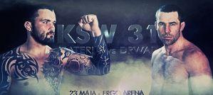 """KSW 31 """"Materla vs Drwal"""": oficjalny trailer gali!"""