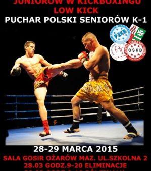 Mistrzostwa Polski Juniorów w Kickboxingu Low kick i Puchar Polski Seniorów K-1 w Ożarowie Mazowieckim – wyniki!