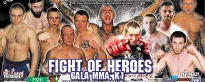 Fight Of Heros w Sosnowcu! Karta walk