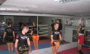 Judyta Niepogoda i Katarzyna Posiadała na treningu w Klubie Bokserskim Pięściarz w Warszawie!
