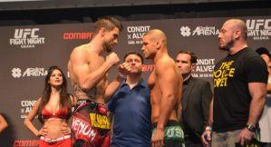 UFC Fight Night 67: Carlos Condit i Thiago Alves w limicie! Wyniki ważenia!