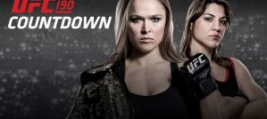 Countdown to UFC 190! Video!