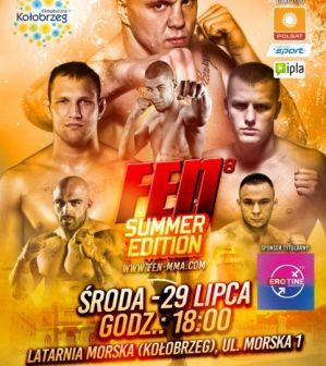 Wydarzenia poprzedzające galę FEN 8 Summer Edition: trening medialny, ważenie zawodników i konferencja prasowa!