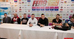 Konferencja prasowa przed galą FEN 8 Summer Edition - krótkie podsumowanie!