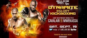 Saulo Cavalari vs. Zack Mwekassa o wakujący tytuł GLORY w wadze półciężkiej na gali Dynamite!
