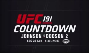 Countdown to UFC 191!