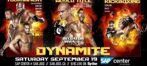 Znamy zestawienia na galę Bellator Dynamite!