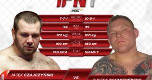 Jacek Czajczyński vs Bjoern Schmiedeberg w walce wieczoru gali Incredible Fighting Night 1!