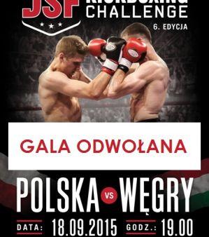 DSF Kickboxing Challenge 'Polska vs Węgry': Płock, 18/09/2015