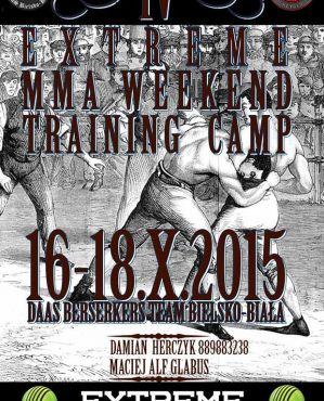 Berserkers Team Bielsko-Biała zaprasza na MMA Training Camp! Wideo z poprzedniego obozu!