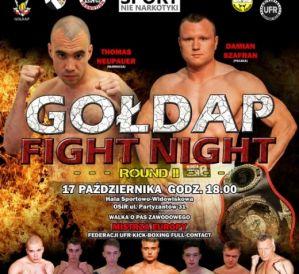 Gołdap Fight Night [Round 2] – Szafran: Neupauer jest w moim zasięgu. Nie zawiodę publiczności.