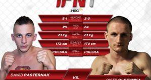 Dawid Pasternak vs Piotr Olszynka na gali IFN 1 w Częstochowie