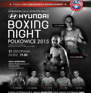 Hyundai Boxing Night: Polkowice, 21/11/2015
